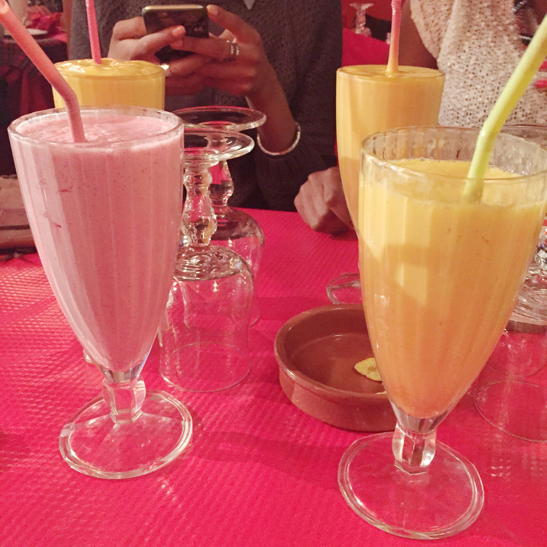 Cocktails - Mangue & Mûre Con Leche