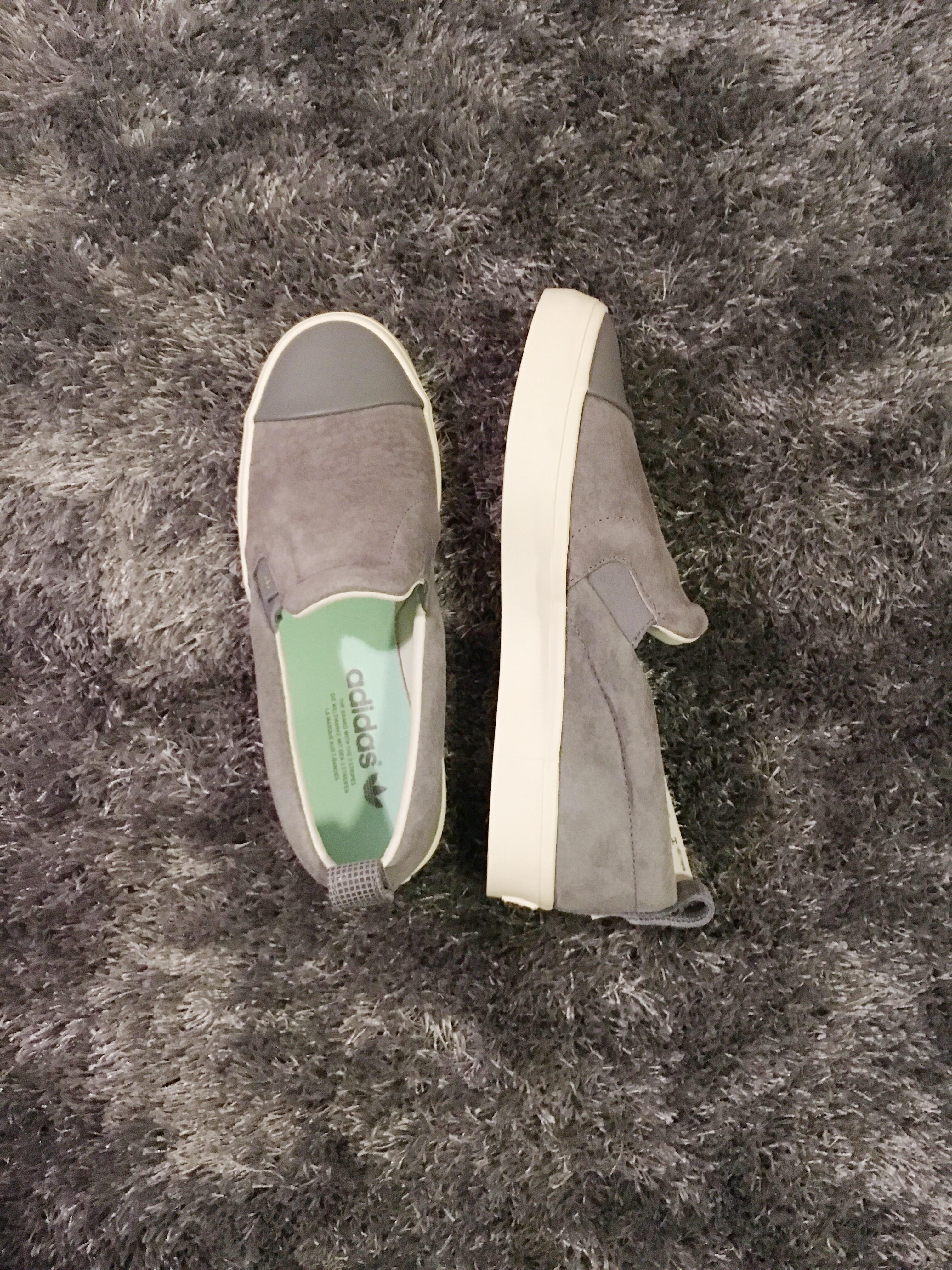 Slip-on Adidas grises