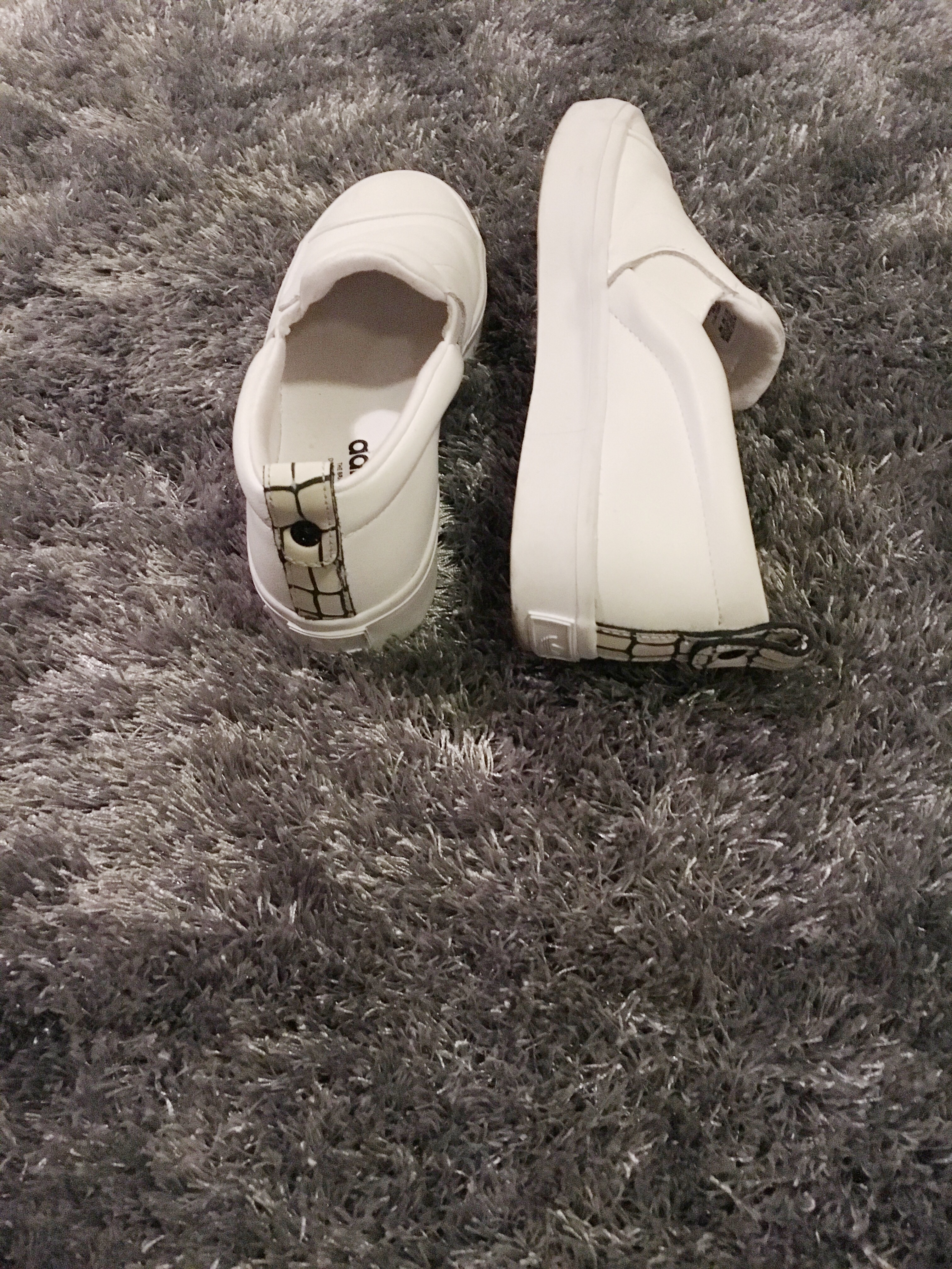 Slip-on Adidas blanches